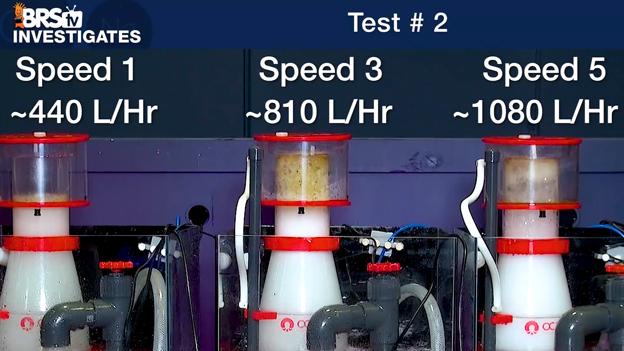 Reef Octopus Regal skimmer test #2 results