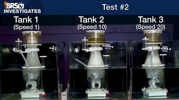 Skimz Protein Skimmer Test 2 Results