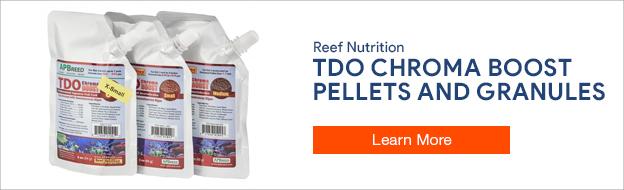 TDO Chroma Boost Fish Food