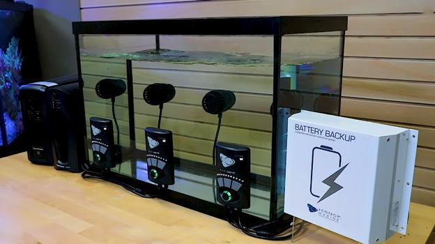 Battery test setup in BRS lab