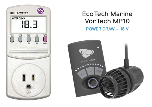 Killawatt meter with EcoTech MP10