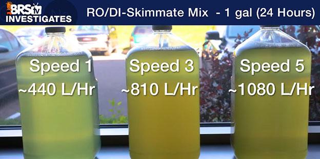 Skim samples in window sill