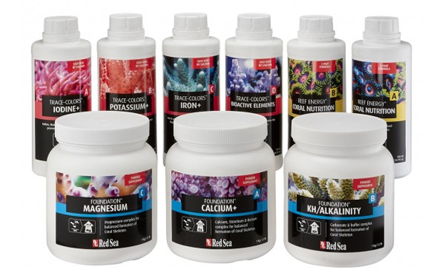 Red Sea Trace Colors and Reef Foundation Kit