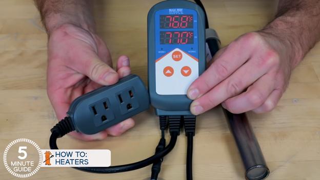 BRS heater temperature controller