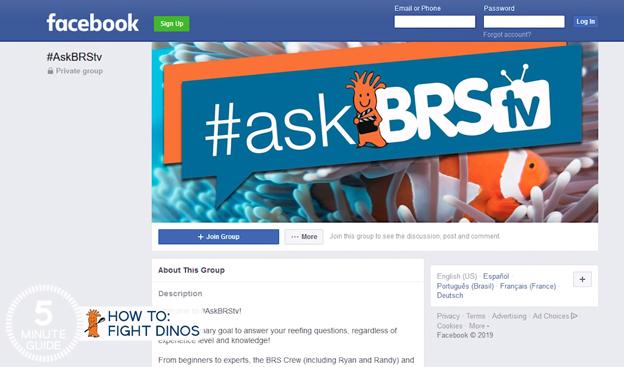 #askBRStv Facebook Group