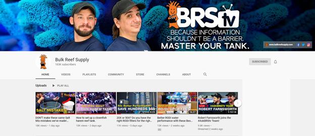 BRStv YouTube Channel