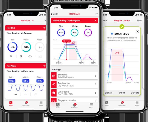 Red Sea ReefLed ReefSpec App