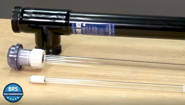 UV sterilizer quartz sleeve and bulb