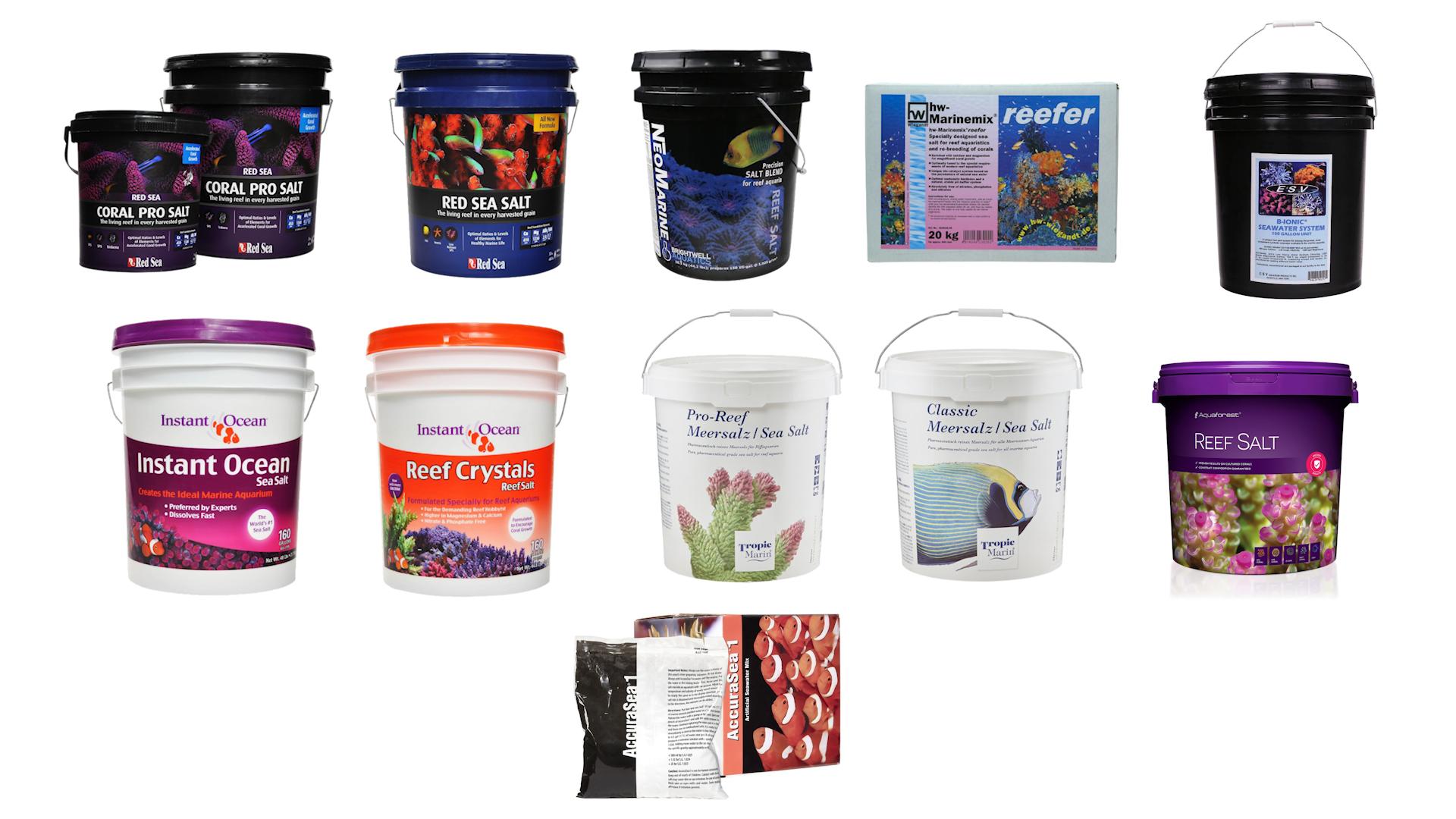 Salt mix brands we tested
