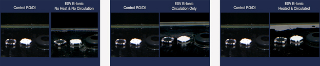 ESV Seawater System Residue Test Results