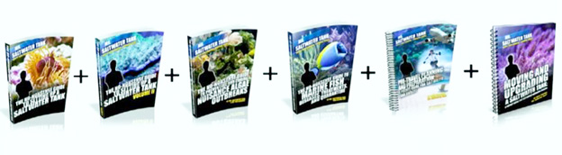Mr Saltwater Tank books by Mark Callahan.