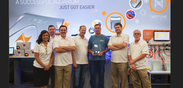 David Gregor - Aquarist of the year by Neptune Systems
