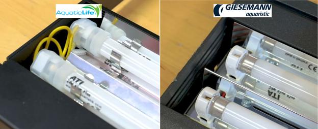 Hybrid T5 socket side by side comparison