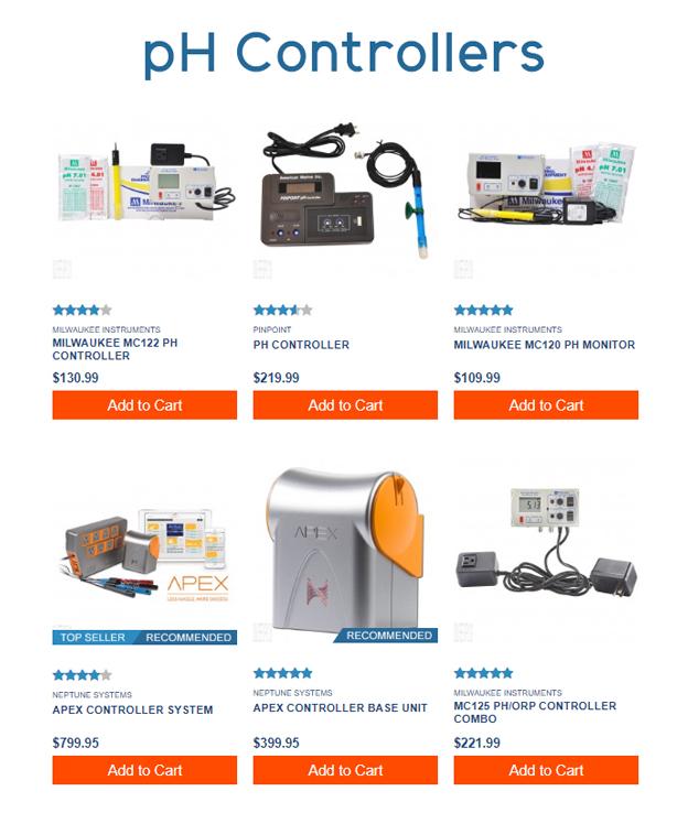 pH Controller Options