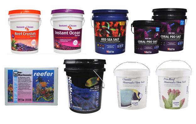 8 Brands of tested salt mix