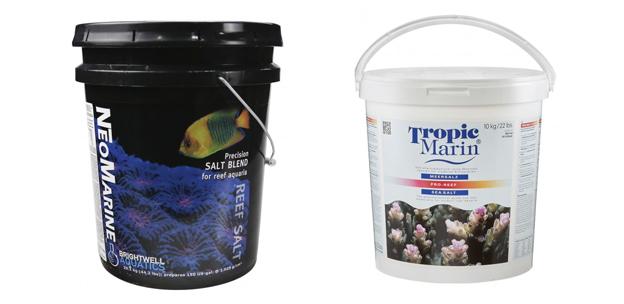 Tropic Marin Pro Reef and Brightwell Aquatics NeoMarine Salt Mix