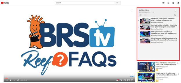 BRStv YouTube playlist for Lighting Videos