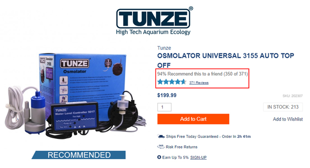 Tunze Osmolator