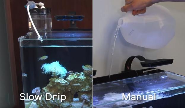Manual Top Off Methods