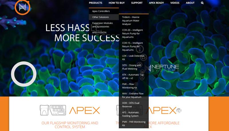 Neptune Systems Website