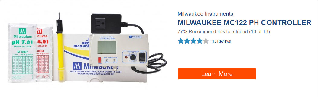 Milwaukee pH Controller