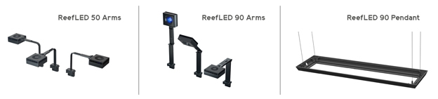 Red Sea Reef LED mounting options