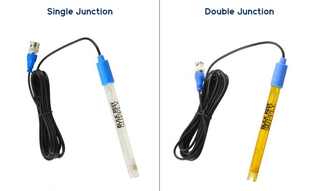 Single vs Double Junction pH probes
