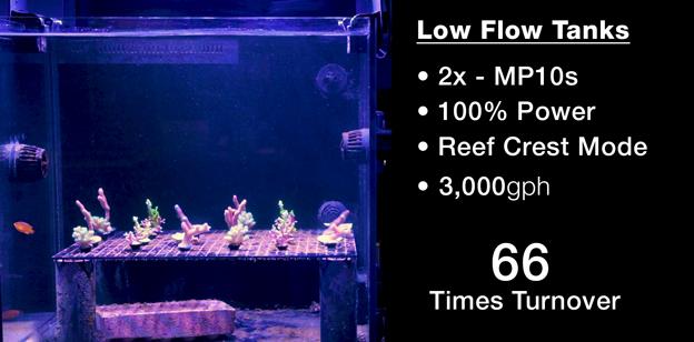 Low Flow Test Tanks