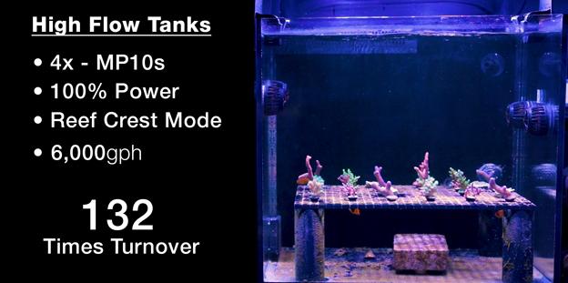 High Flow Test Tanks