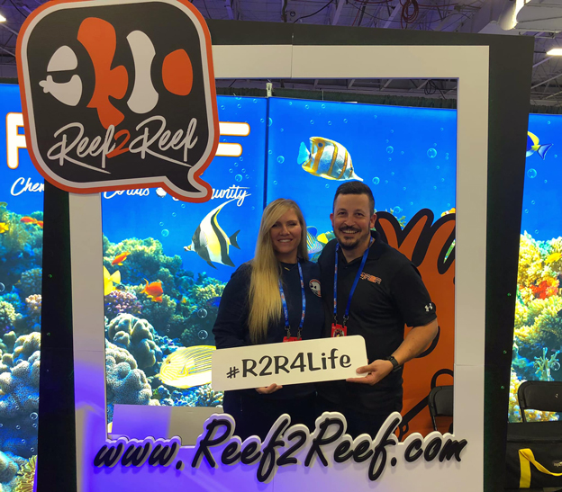 Reef2Reef Booth at Reefapalooza with David Hammontree