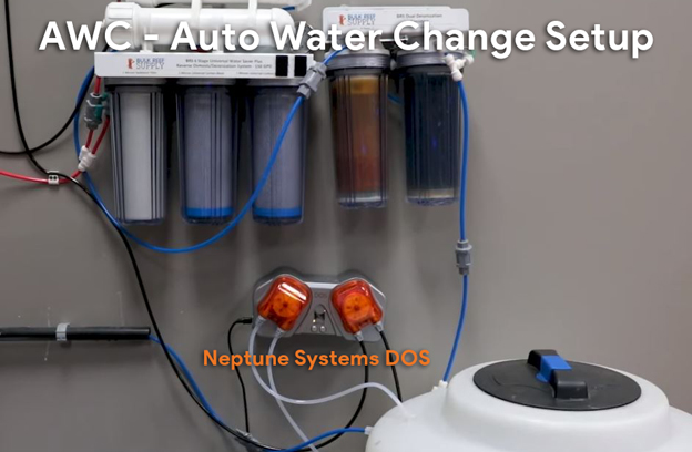 Auto Water Change systems with Neptune Systems DOS