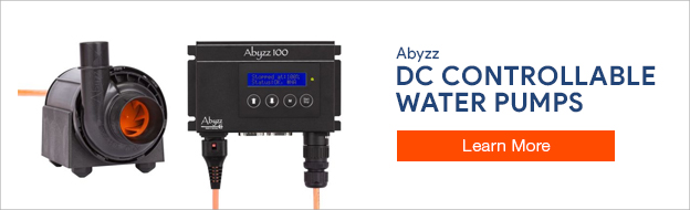 Abyzz DC Controllable Water Pumps