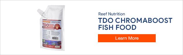 Reef Nutrition TDO Chromaboost Fish Food