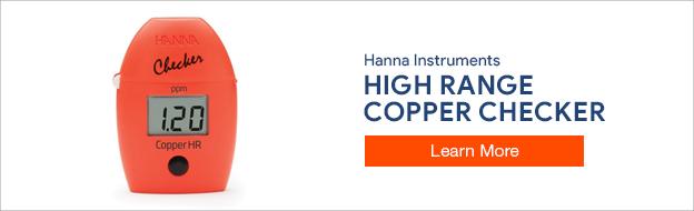 Hanna Instruments Copper Checker Colorimeter