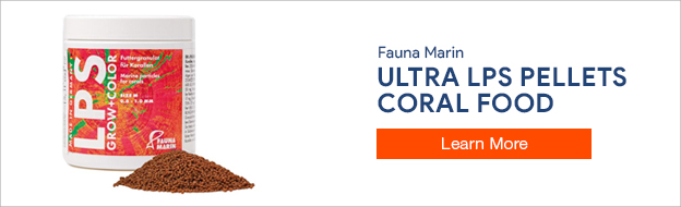 Fauna Marin Ultra Grow and Color LPS Pellets