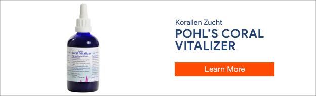 Korallen Zucht Pohl's Coral Vitalizer